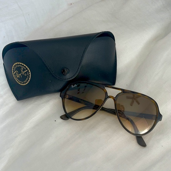 RAY BAN CATS 5000 CLASSIC IN GRADIENT + TORTOISE